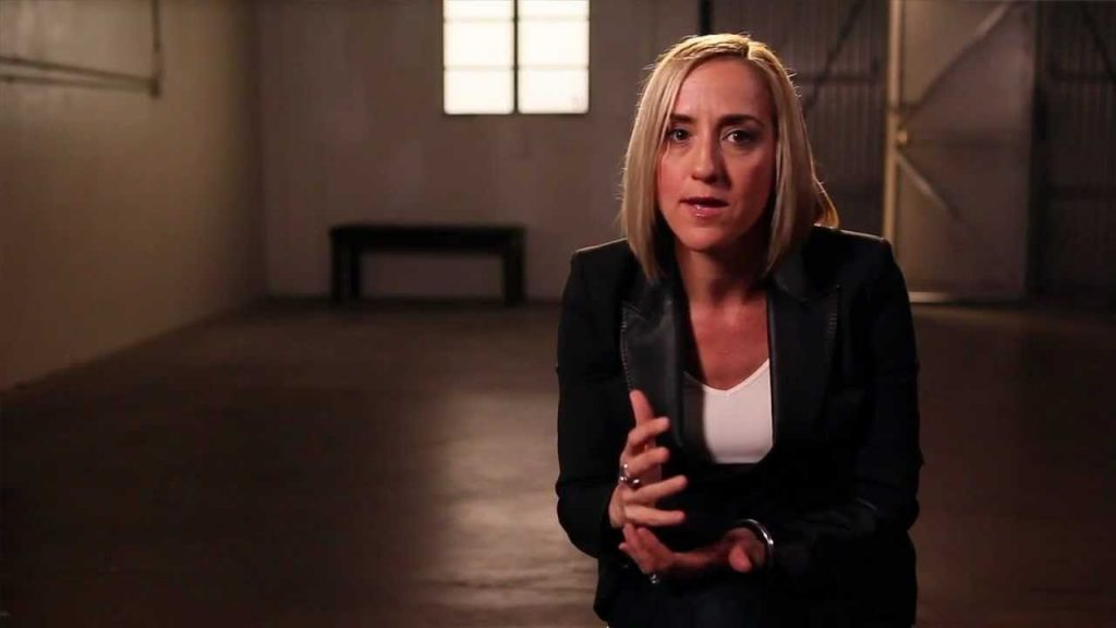 Author and speaker Christine Caine, founder of the A21 campaign to end human trafficking